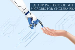 AI and Patterns of Gut Microbes for Cholera Risk